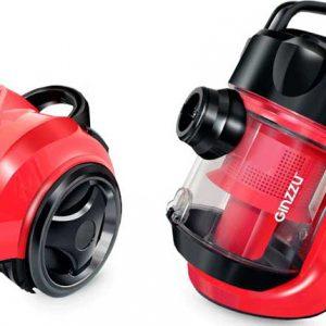 Пылесос циклонный Ginzzu VS420 (черный/красный)