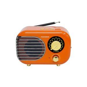 Радиоприемник TELEFUNKEN TF-1682UB (оранжевый/золотистый)