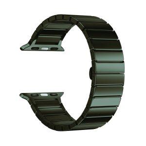 Ремешок Apple блочный 44 мм (черный)