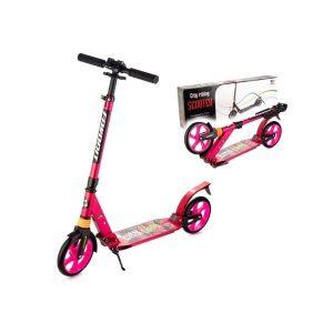 Самокат Favorit Disco C32012 (розовый)