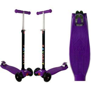 Самокат Favorit Maxi 4108 (фиолетовый)