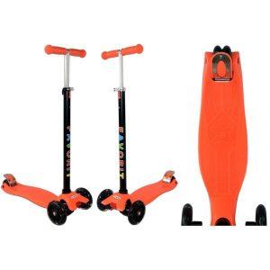 Самокат Favorit Maxi 4108 (оранжевый)