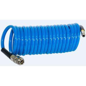 Шланг полиуретановый спиральный с фитингами FUBAG 8х12 5 м (170304)