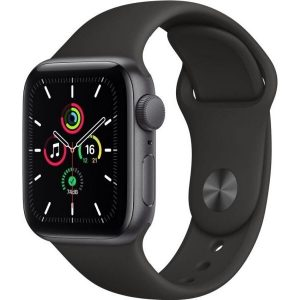 Смарт-часы APPLE Watch SE Space Gray Aluminium Case with Black Sport Band 40mm (MYDP2GK/A)