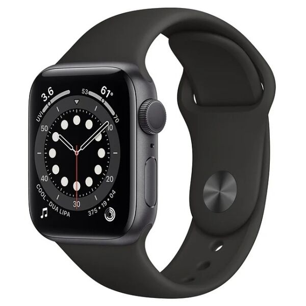 Смарт-часы APPLE Watch SE Space Gray Aluminium Case with Black Sport Band 40mm (MYDP2UL/A)