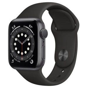Смарт-часы APPLE Watch Series 6 Space Gray Aluminium Case with Black Sport Band 44mm (M00H3GK/A)