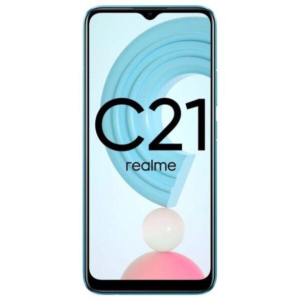 Смартфон Realme C21 RMX3201 4GB/64GB (голубой)