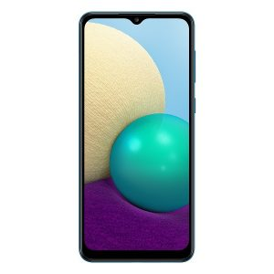 Смартфон Samsung Galaxy A02 (синий)