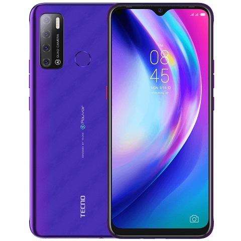 Смартфон Tecno Pouvoir 4 (фиолетовый)