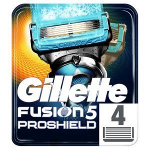 Сменные кассеты GILLETTE Fusion5 ProShield Chill 4шт (7702018412518)