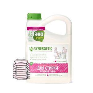 СМС биоразлагаемое жидкое для стирки белья SYNERGETIC 2
