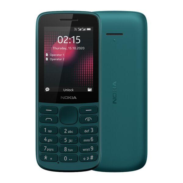 Сотовый телефон NOKIA 215 (бирюзовый)