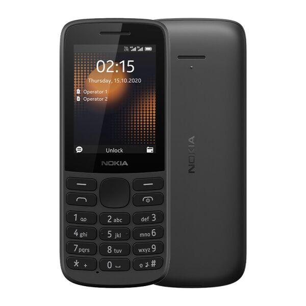 Сотовый телефон NOKIA 215 (черный)