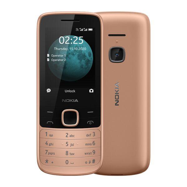 Сотовый телефон NOKIA 225 (песочный)