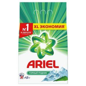 Стиральный порошок Ariel Automat Горный родник 4.5 кг