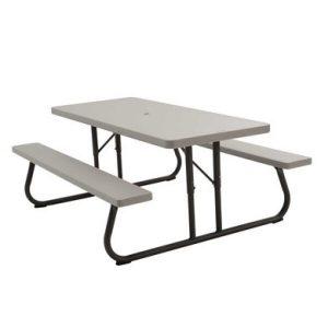 Стол для пикника LIFETIME 90022119 183*76см (2 скамьи)