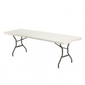 Стол прямоугольный LIFETIME 90080270 244*76см
