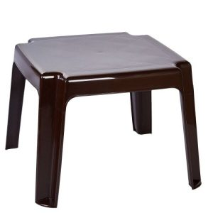Столик для шезлонга Алеана 100030 (шоколад)