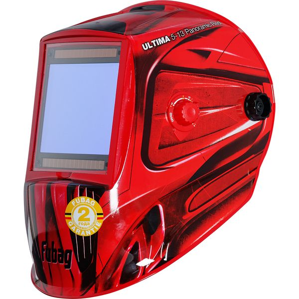 Сварочная маска Fubag Ultima 5-13 Panoramic Red (992510)