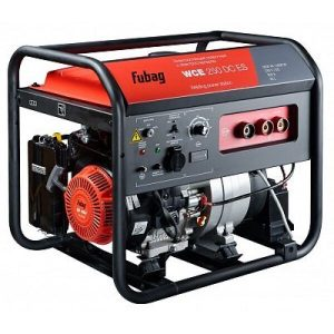Сварочный генератор с электростартером FUBAG WCE 250 DC ES