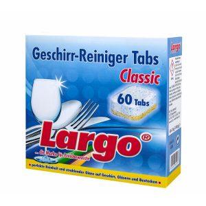 Таблетки для ПММ LARGO Classic 60 шт (60116)