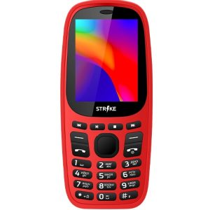 Телефон GSM STRIKE A20 (красный)