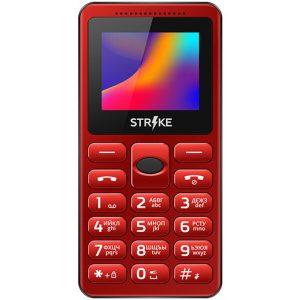 Телефон GSM STRIKE S10 (красный)