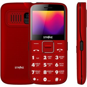 Телефон GSM STRIKE S20 (красный)