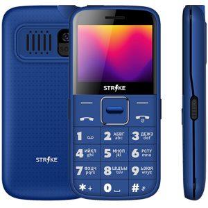 Телефон GSM STRIKE S20 (синий)
