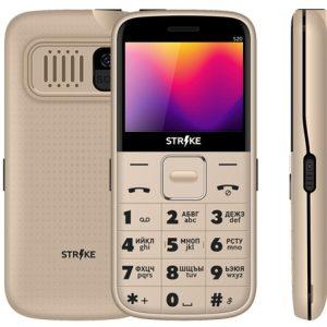 Телефон GSM STRIKE S20 (золотистый)
