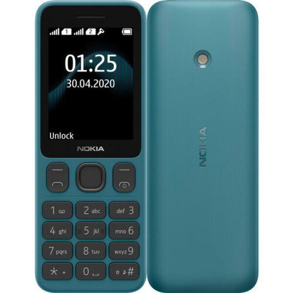 Телефон Nokia 125 Dual sim синий (TA-1253)