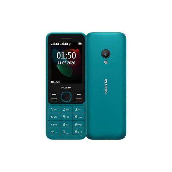 Телефон Nokia 150 Dual sim бирюзовый (TA-1235)