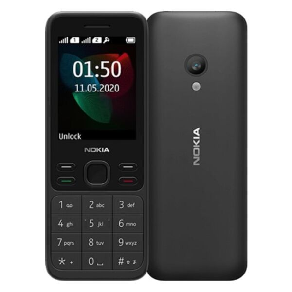 Телефон Nokia 150 Dual sim черный (TA-1235)