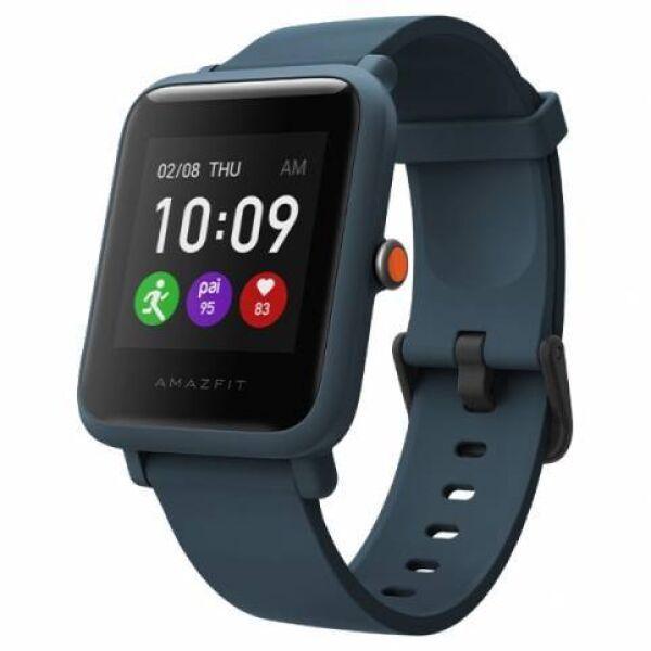 Умные часы Amazfit Bip S Lite (темно-синий)