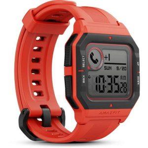 Умные часы Amazfit Neo (красный)