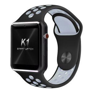 Умные часы D&A К1 черный ремень