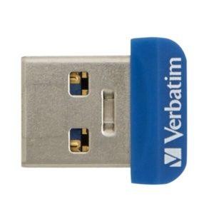 USB Flash Verbatim Store 'n' Stay Nano 64GB (синий)
