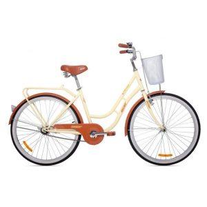 Велосипед AIST Avenue 26 2021 (бежевый)