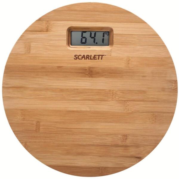 Весы SCARLETT SC-BS33E061 Бамбук