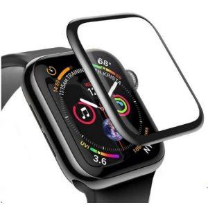 Защитное стекло CASE 3D для Apple Watch Series 3 (38 mm) черный
