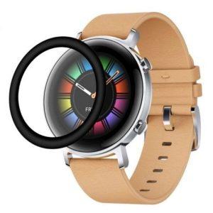 Защитное стекло CASE 3D для Huawei Watch GT2 (42 mm) черный