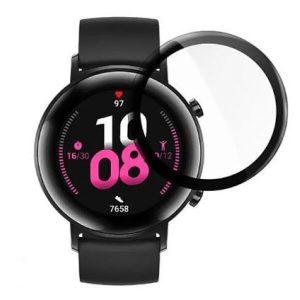 Защитное стекло CASE 3D для Huawei Watch GT2 (46 mm) черный
