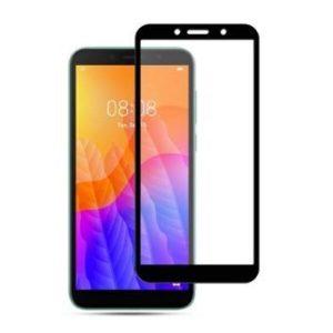 Защитное стекло CASE 3D для Huawei Y5p / Honor 9S (черный глянец)