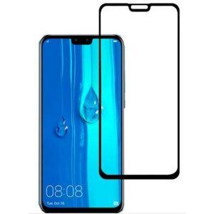 Защитное стекло CASE 3D для Huawei Y9 (черный глянец)