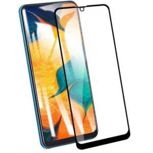 Защитное стекло CASE 3D для Samsung Galaxy A40 (черный глянец)