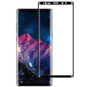 Защитное стекло CASE 3D для Samsung Galaxy Note 9 (черный глянец)