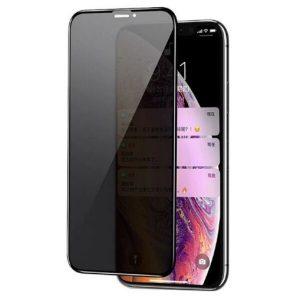 Защитное стекло CASE Full Glue Privacy (Антишпион) для Apple iPhone 11/XR (черный)