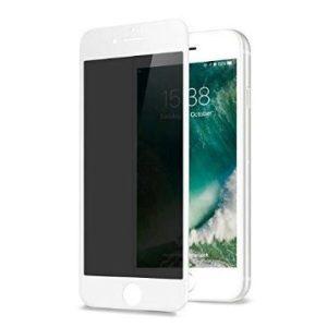 Защитное стекло CASE Full Glue Privacy (Антишпион) для Apple iPhone 6/6S Plus (белый)