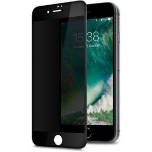 Защитное стекло CASE Full Glue Privacy (Антишпион) для Apple iPhone 6/6S Plus (черный)