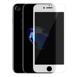 Защитное стекло CASE Full Glue Privacy (Антишпион) для Apple iPhone 7 / 8 (белый)